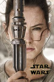 Star Wars 7 Rey Teaser Wall Poster (436)