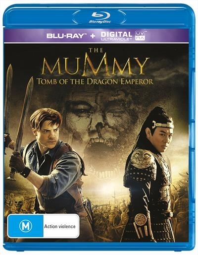 The Mummy - Tomb Of The Dragon Emperor on Blu-ray