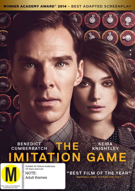 The Imitation Game on Blu-ray