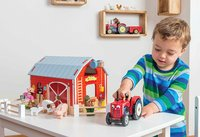 Le Toy Van: Red Barn - Wooden Playset