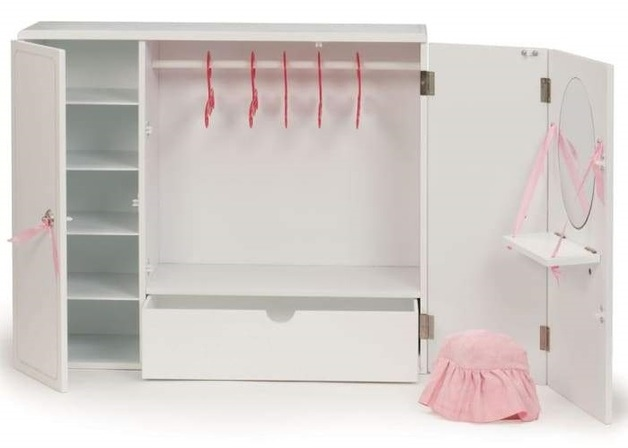 Our Generation - Wooden Wardrobe Playset