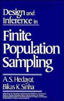 Design and Inference in Finite Population Sampling by A. S. Hedayet image