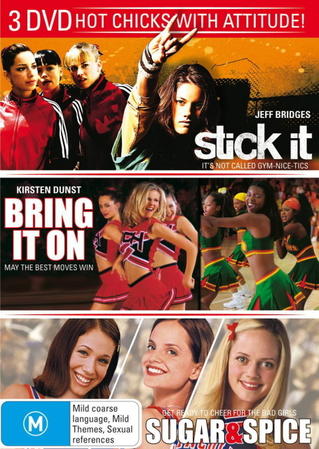 Stick It / Bring It On / Sugar And Spice (3 Disc Set) on DVD