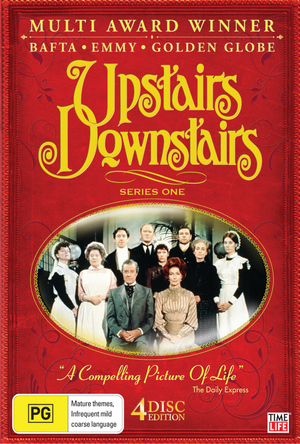 Upstairs Downstairs - Series 1 (4 Disc Set) on DVD