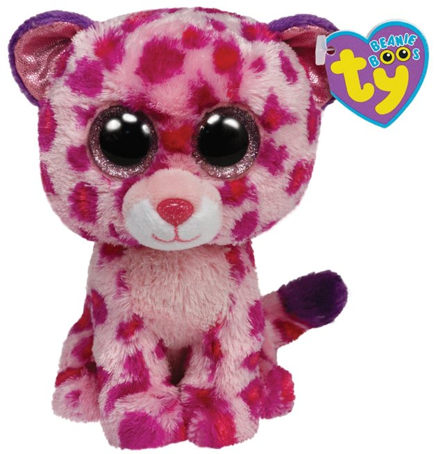 TY Beanie Boo's Medium - Glamour the Leopard
