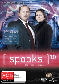 Spooks - Season 10 on DVD