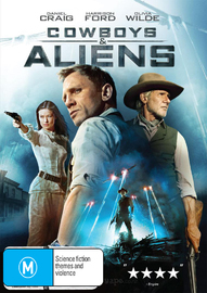 Cowboys and Aliens DVD image