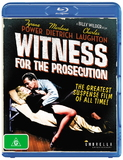 Witness for the Prosecution on Blu-ray