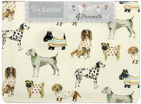 Cooksmart Pack of 4 Placemats - Best In Show