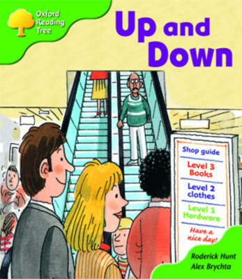 Oxford Reading Tree: Stage 2: More Patterned Stories A: Up and Down by Roderick Hunt image