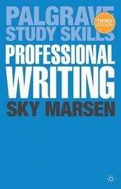 Professional Writing by Sky Marsen image