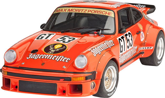 "Revell 1/24 Porsche 934 Rsr ""Jagermeister"" Scale Model Kit"
