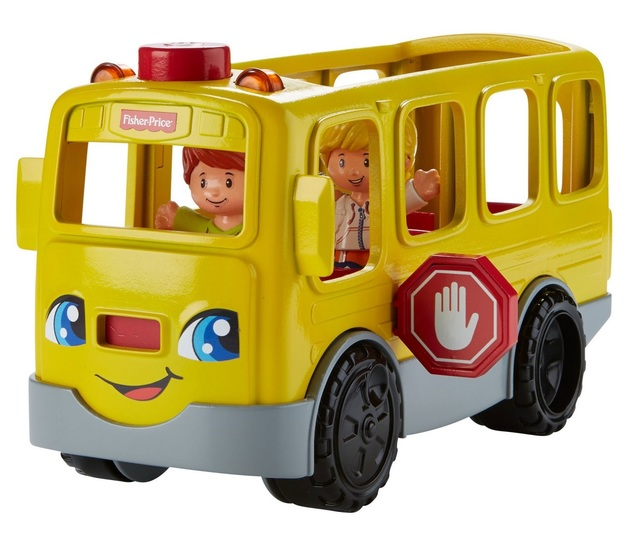 Fisher-Price: Little People - Sit With Me School Bus