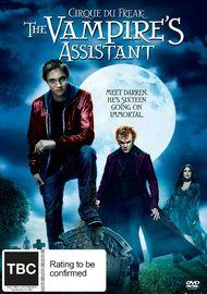 Cirque Du Freak: The Vampires Assistant on DVD