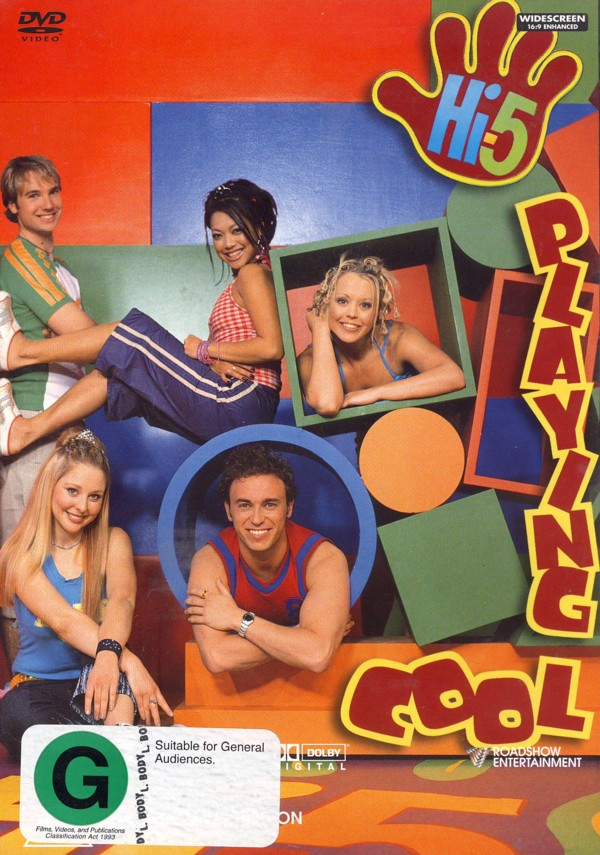 Hi-5 - Playing Cool on DVD image