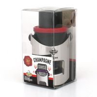 Bar Amigos Champagne Pressure Stopper - Red