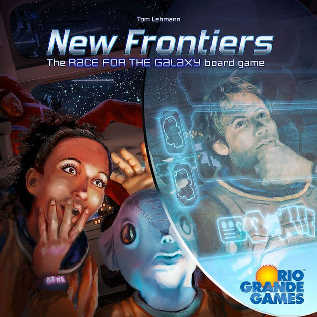 New Frontiers: The Race for the Galaxy - Board Game