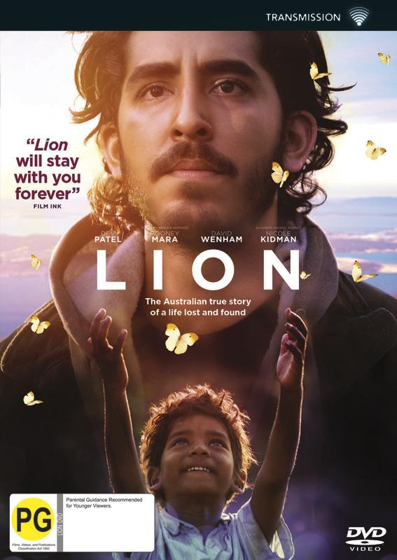 Lion on DVD