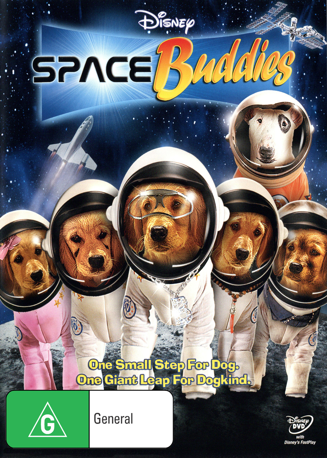 Space Buddies on DVD image