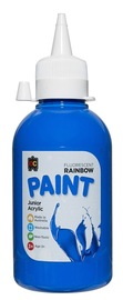 EC Colours - 250ml Rainbow Acrylic Paint - Fluoro Blue