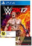 WWE 2K17 for PS4