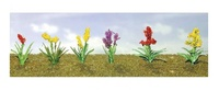 JTT: O Scale Assorted Flower Plants 2 - 10 Pack