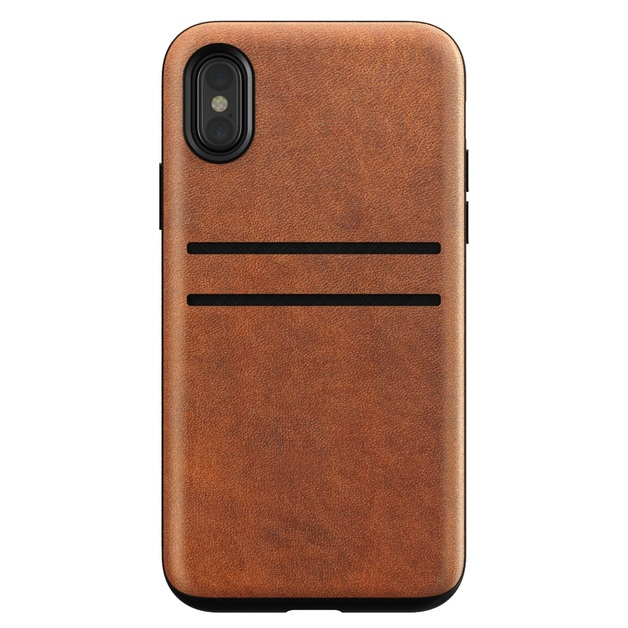 Nomad Leather Wallet Case - iPhone X/XS