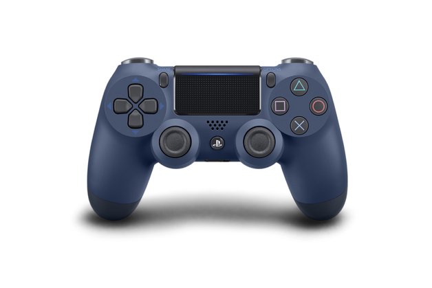 PlayStation 4 Dual Shock 4 v2 Wireless Controller - Midnight Blue for PS4