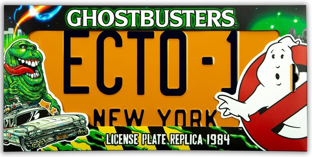 Ghostbusters: ECTO-1 - 1/1 License Plate Replica