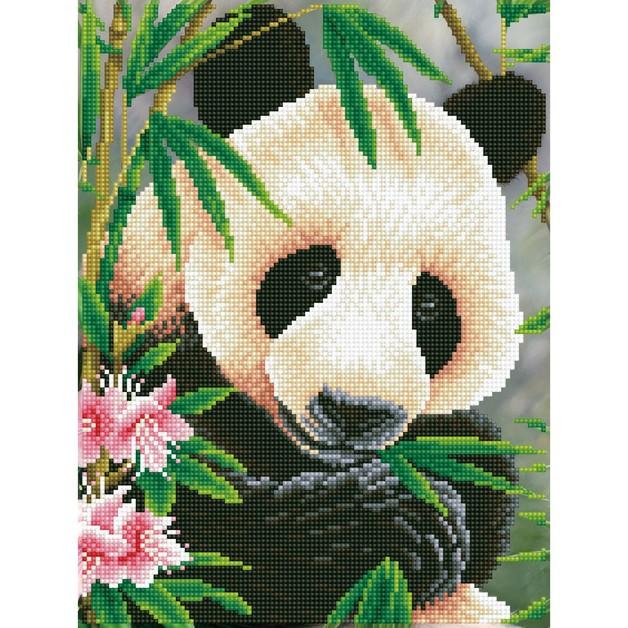 Diamond Dotz: Facet Art Kit - Panda Prince (Intermediate)