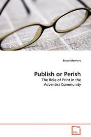 Publish or Perish by Bruce Manners image