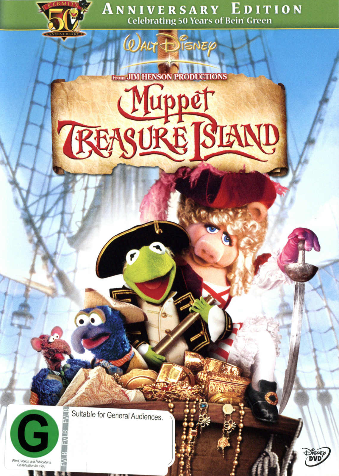 Muppet Treasure Island: 50th Anniversary on DVD image