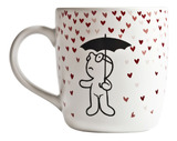 Mr. P Raining Hearts Mug
