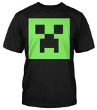 Minecraft Creeper Glow in the Dark Youth T-Shirt (XL)