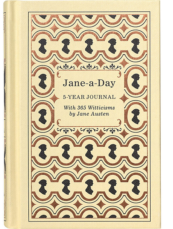 Jane-a-Day: 5 Year Journal (with Jane Austen quotes) by Potter Style image