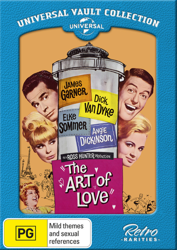 The Art Of Love [Universal Vault Collection] on DVD