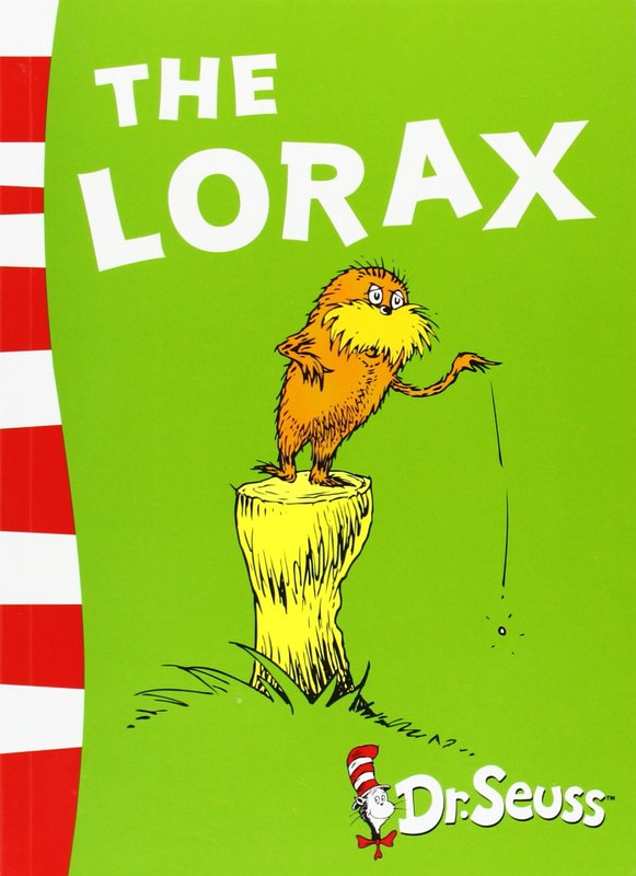 The Lorax: Yellow Back Book by Dr Seuss