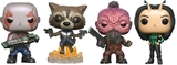 Guardians of the Galaxy: Vol. 2 - Rocket, Drax, Taserface & Mantis - Pop! Vinyl 4Pk