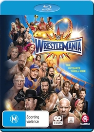 WWE: Wrestlemania XXXIII - Limited Edition on Blu-ray