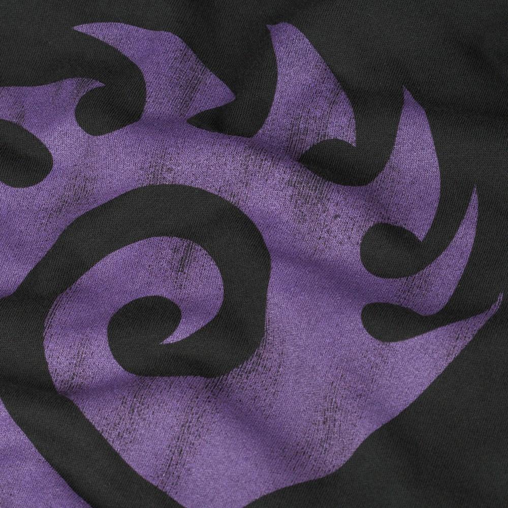 StarCraft II Heart of the Swarm Zerg Vintage Logo Zip-up Hoodie (Small) image