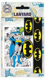 DC Comics: Lanyard with Rubber Keychain - Batman