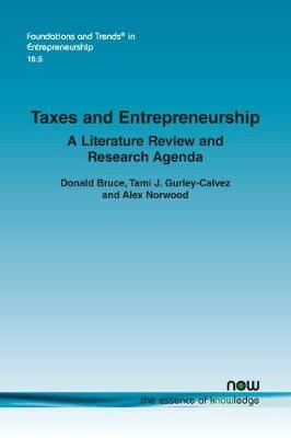 Taxes and Entrepreneurship by Donald Bruce