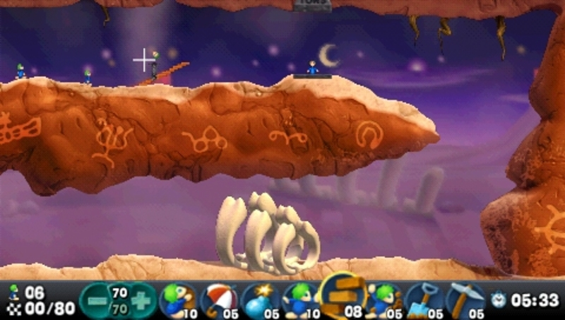 Lemmings (Essential) for PSP image
