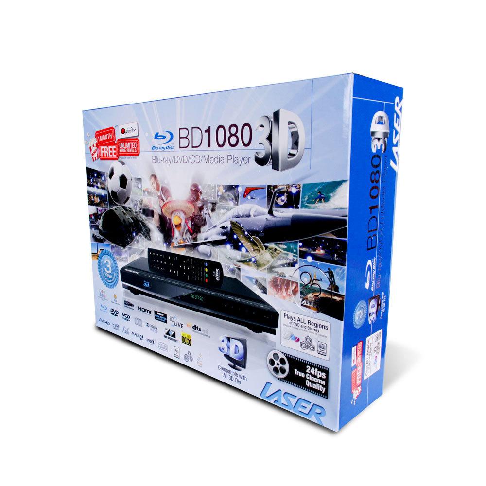 Multi Region 3D Blu-Ray Player