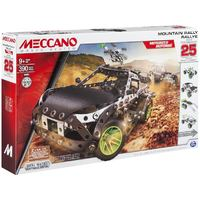 Meccano Mountain Rally Race Set - 25 Models