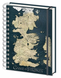 Game of Thrones: A5 Notebook - Westros