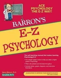 E-Z Psychology by Nancy Melucci