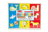 Melissa & Doug: Wooden Stencil Box