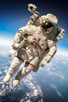 Astronaut in Space Journal by Cool Image