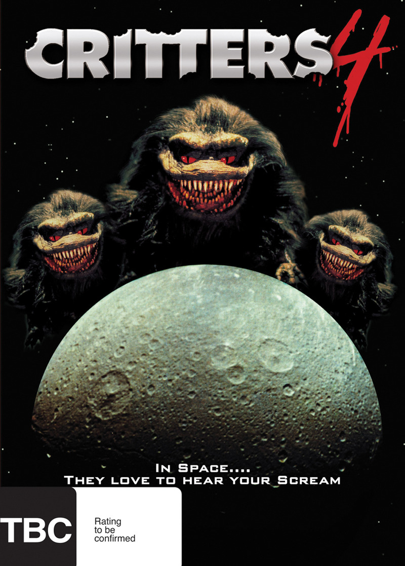 Critters 4 on DVD image